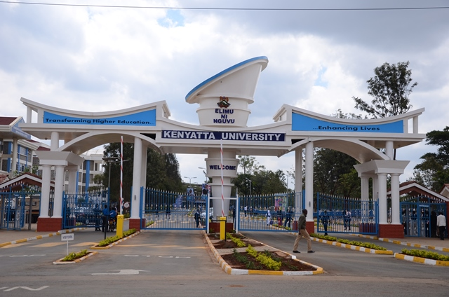 Kenyatta University Main Gate