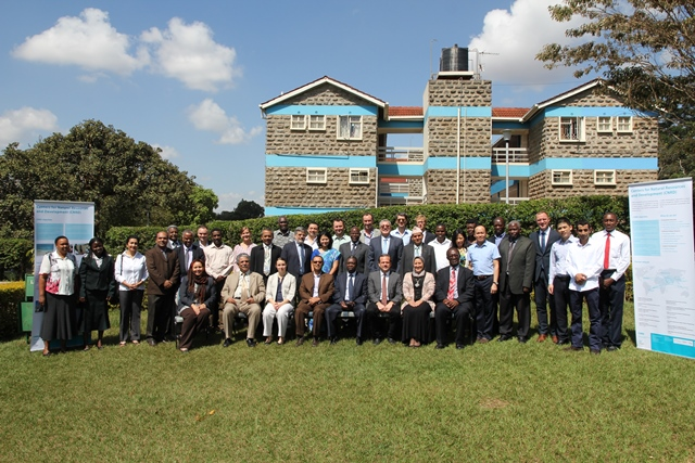CNRD network partners at Kenyatta University