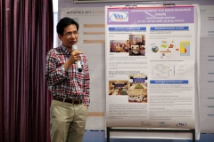 Dr. Trinh Duc Tran presents proposed VAWR activities for 2017